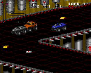 Rock N Roll Racing SNES 09