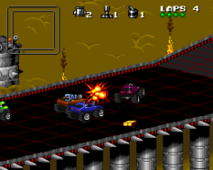 Rock N Roll Racing SNES 11