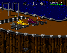 Rock N Roll Racing SNES 21