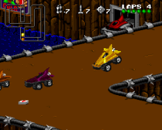 Rock N Roll Racing SNES 22