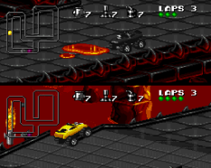 Rock N Roll Racing SNES 33