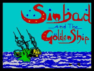 Sinbad and the Golden Ship ZX Spectrum 01