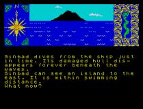 Sinbad and the Golden Ship ZX Spectrum 08