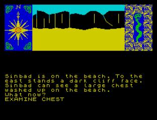 Sinbad and the Golden Ship ZX Spectrum 09