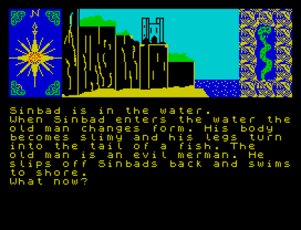 Sinbad and the Golden Ship ZX Spectrum 12