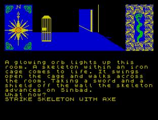 Sinbad and the Golden Ship ZX Spectrum 20