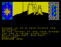 Sinbad and the Golden Ship ZX Spectrum 38