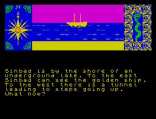 Sinbad and the Golden Ship ZX Spectrum 45