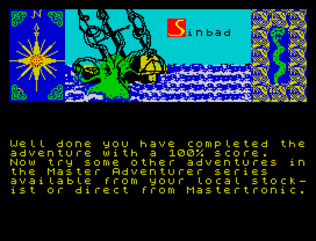 Sinbad and the Golden Ship ZX Spectrum 48