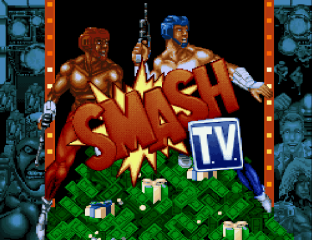 Smash TV SNES 01