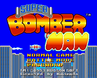 Super Bomberman SNES 01