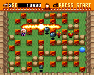 Super Bomberman SNES 09