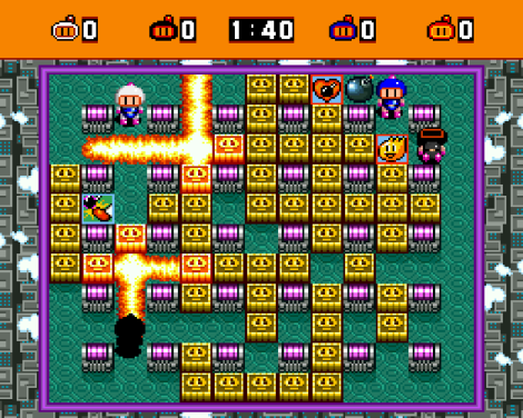 Super Bomberman SNES 37