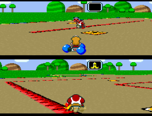 Super Mario Kart SNES 09