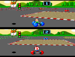 Super Mario Kart SNES 31