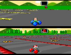 Super Mario Kart SNES 33