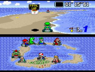 Super Mario Kart SNES 42