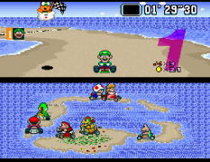 Super Mario Kart SNES 43