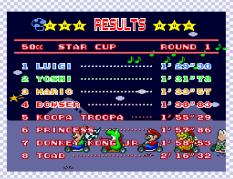 Super Mario Kart SNES 44