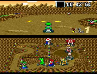Super Mario Kart SNES 45