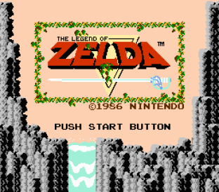 The Legend of Zelda NES 01