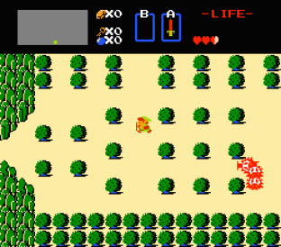 The Legend of Zelda NES 09