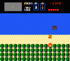 The Legend of Zelda NES 43