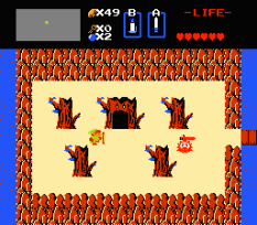 The Legend of Zelda NES 55