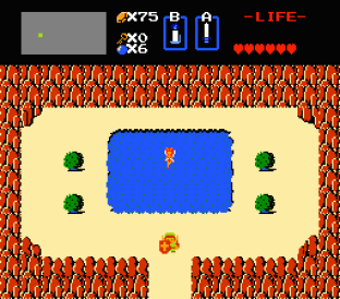 The Legend of Zelda NES 56