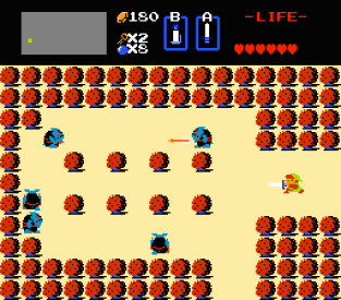 The Legend of Zelda NES 66