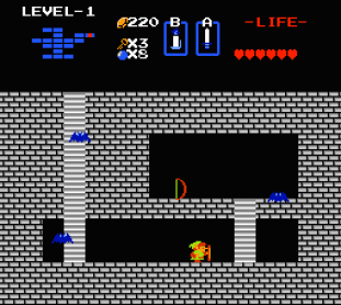 The Legend of Zelda NES 78