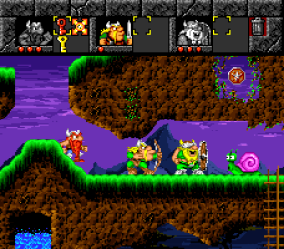 The Lost Vikings SNES 053
