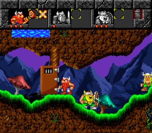 The Lost Vikings SNES 056