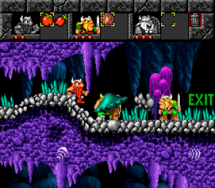 The Lost Vikings SNES 075