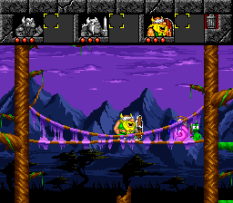 The Lost Vikings SNES 077
