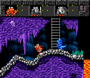 The Lost Vikings SNES 086