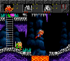 The Lost Vikings SNES 087