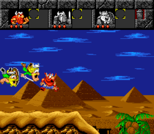 The Lost Vikings SNES 097