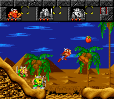 The Lost Vikings SNES 098