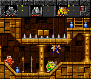 The Lost Vikings SNES 119