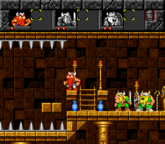 The Lost Vikings SNES 121
