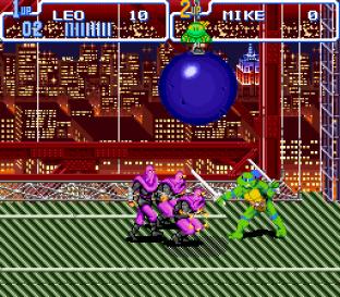 Turtles IV - Turtles In Time SNES 09