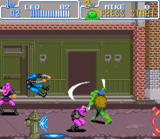 Turtles IV - Turtles In Time SNES 22