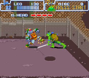 Turtles IV - Turtles In Time SNES 31