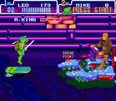 Turtles IV - Turtles In Time SNES 44