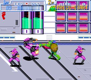 Turtles IV - Turtles In Time SNES 53