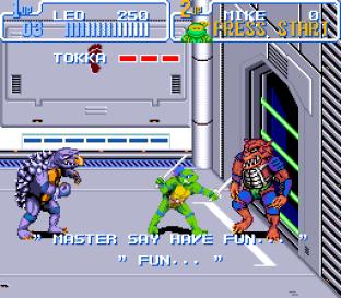 Turtles IV - Turtles In Time SNES 56