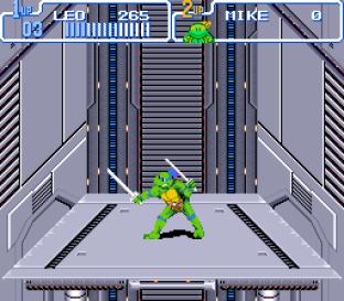 Turtles IV - Turtles In Time SNES 64