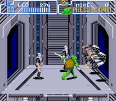 Turtles IV - Turtles In Time SNES 66