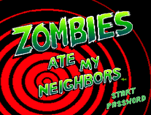 Zombies Ate My Neighbors SNES 01
